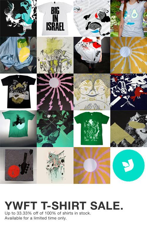 YWFT T-Shirt Sale