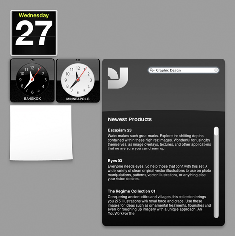 YWFT Dashboard Widget 2.0