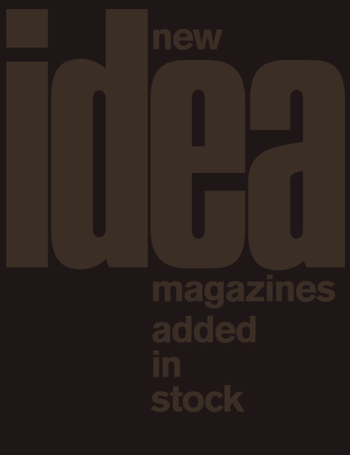IDEA Magazine: New Releases & Sale!