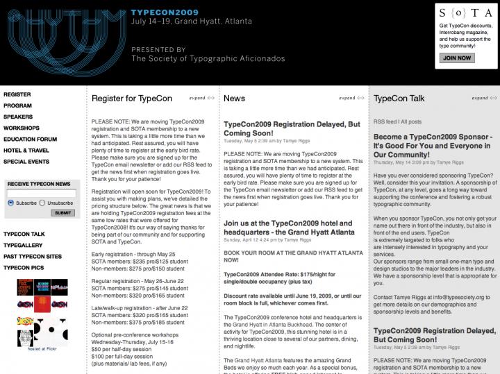 Typecon 2009 Poster Show