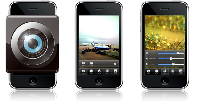 Tiltshift for iPhone