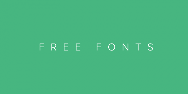 Free Desktop Fonts and WebFonts