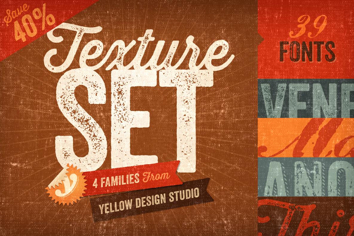 The Texture Set by Yellow Design Studio