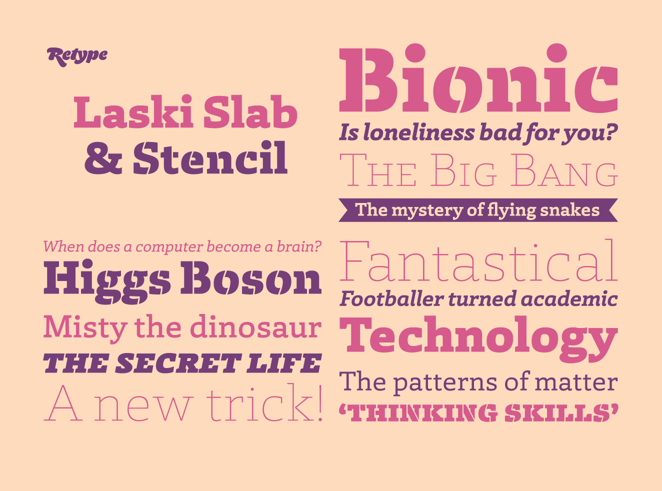 Laski Slab by ReType