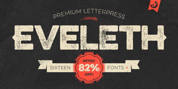 eveleth-font