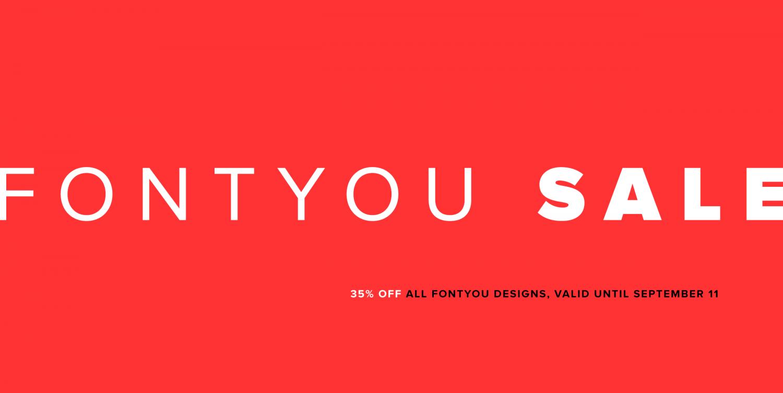 35% Off Fontyou Fonts