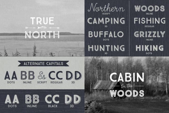 True North Font