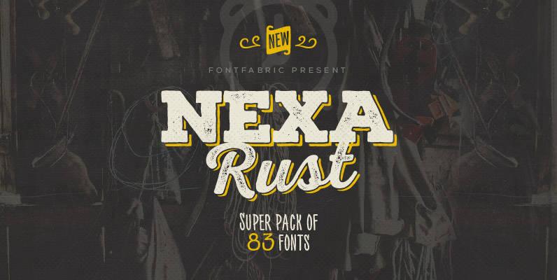 Download Nexa Rust Font