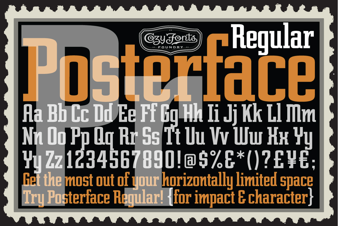Download Posterface by CozyFonts