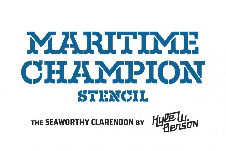 Download Maritime Champion Stencil