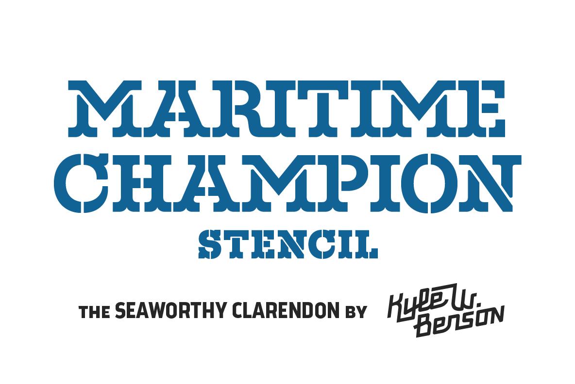 Download Maritime Champion Stencil