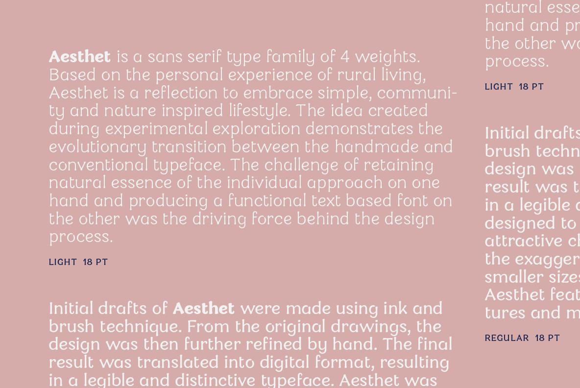 Download Aesthet Font