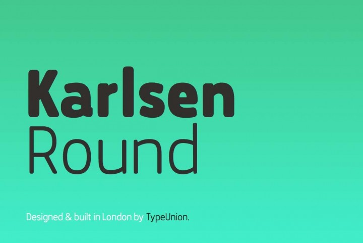 Karlsen Round by TypeUnion