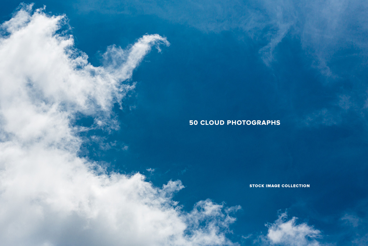Download 50 Cloud Photographs for $9