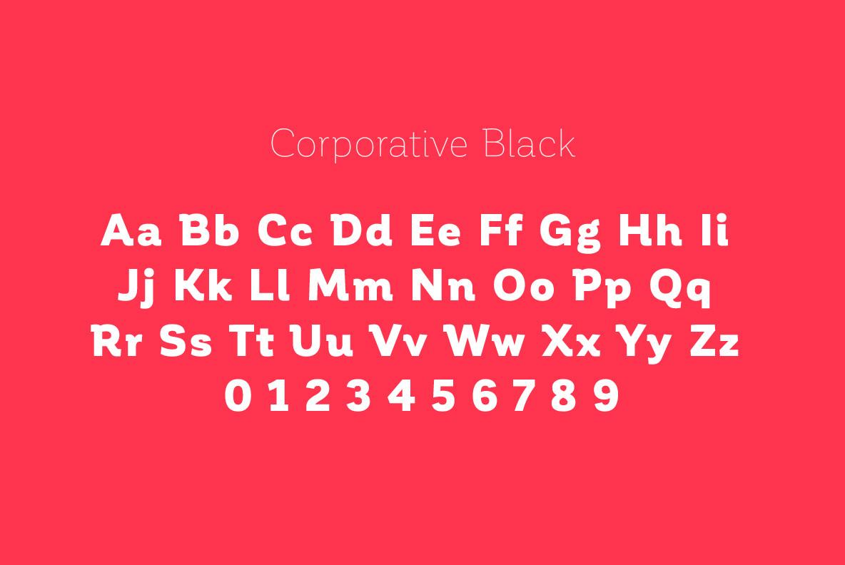 Download Corporative Font