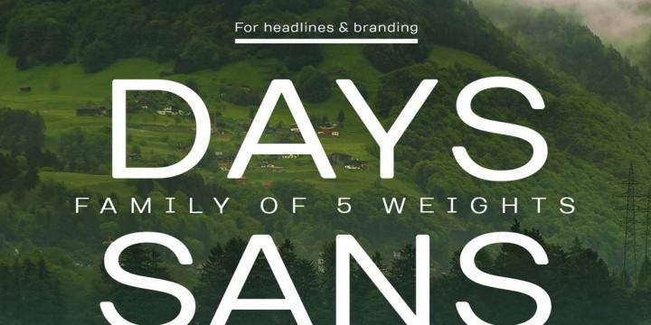 TT Days Sans by TypeType