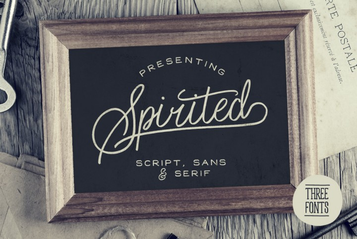 Spirited Font Set by Set Sail Studios