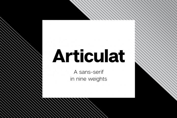 Articulat Sans by Connary Fagen