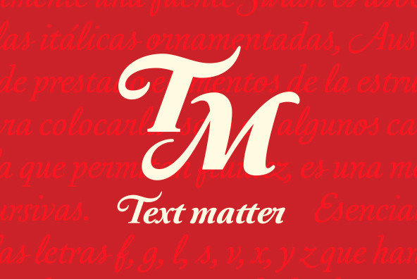 Australis Swash - A Sensational Script Font