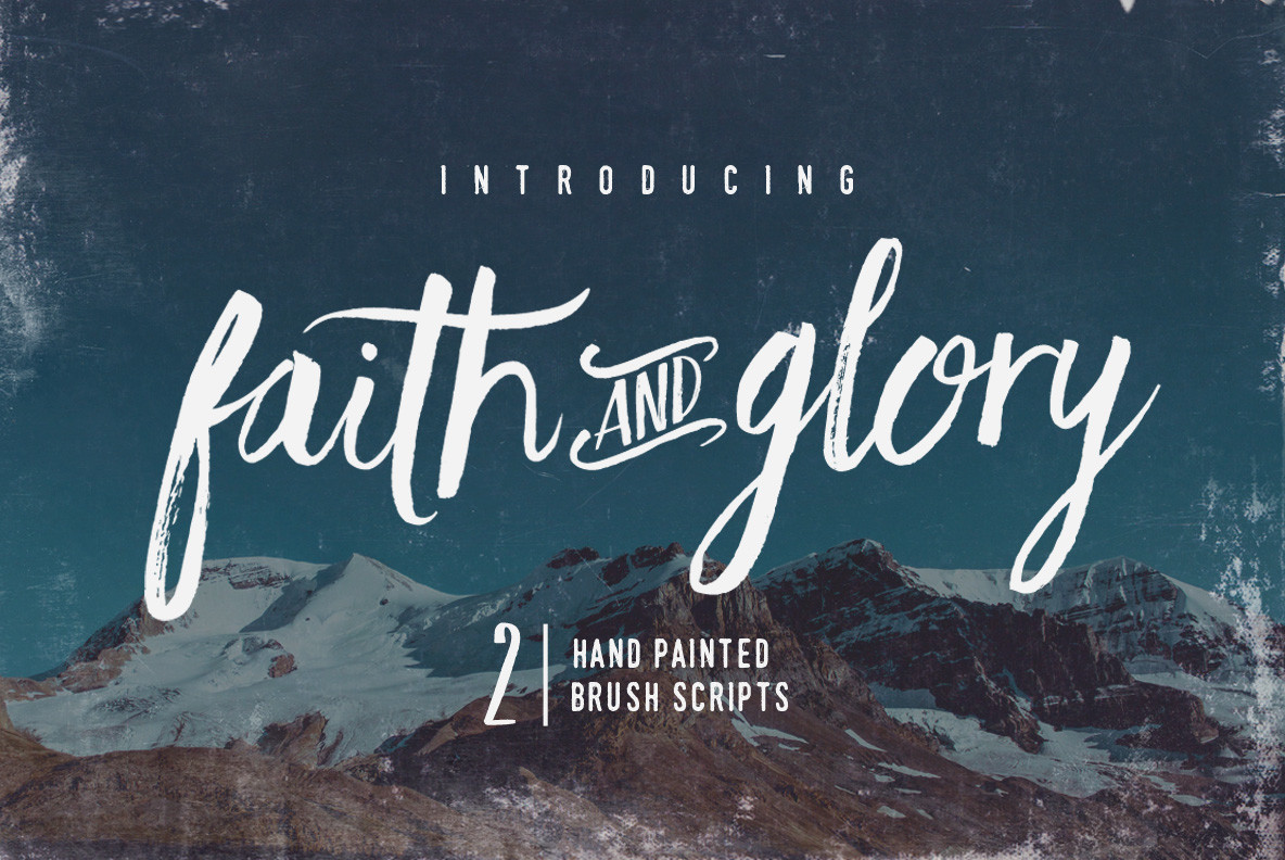 Download Faith and Glory Font