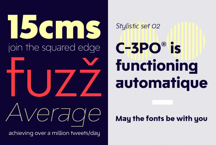 A minimal, robust, reliable & pragmatic sans-serif typeface.