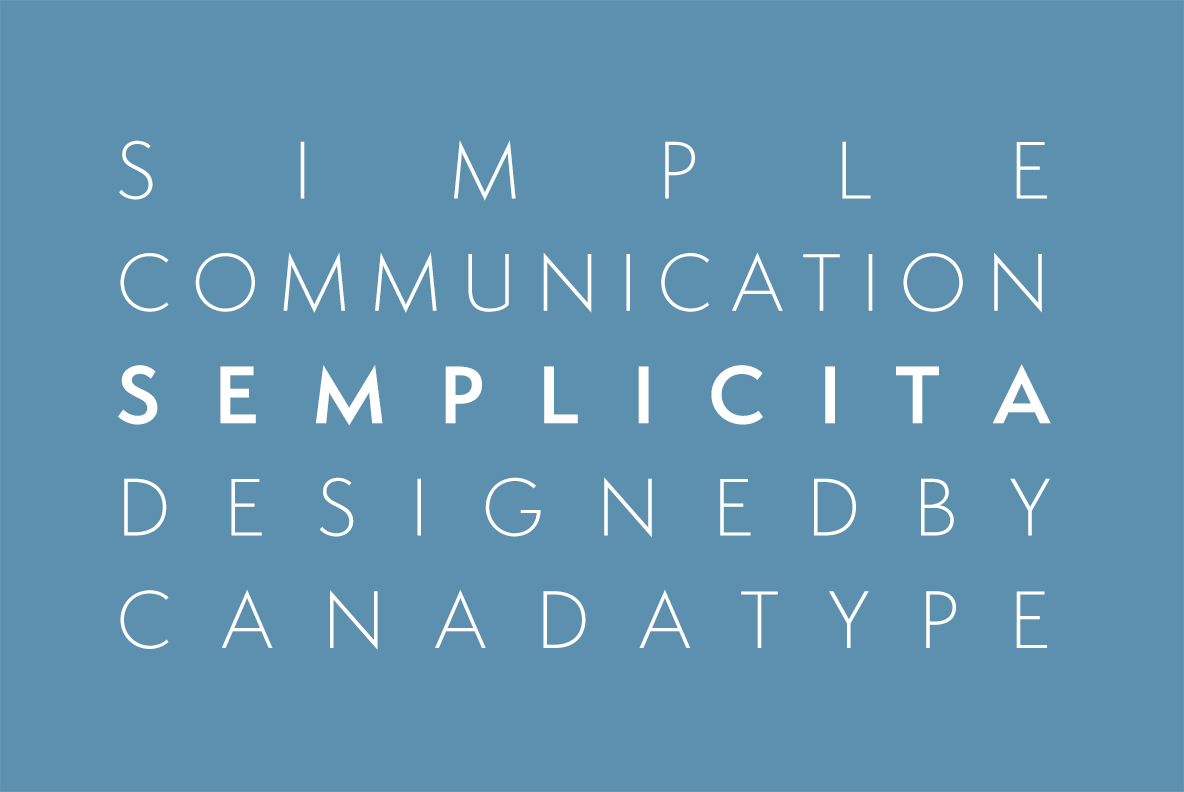 Semplicita Pro - Bringing Back The Elegance of Calligraphic Letterforms