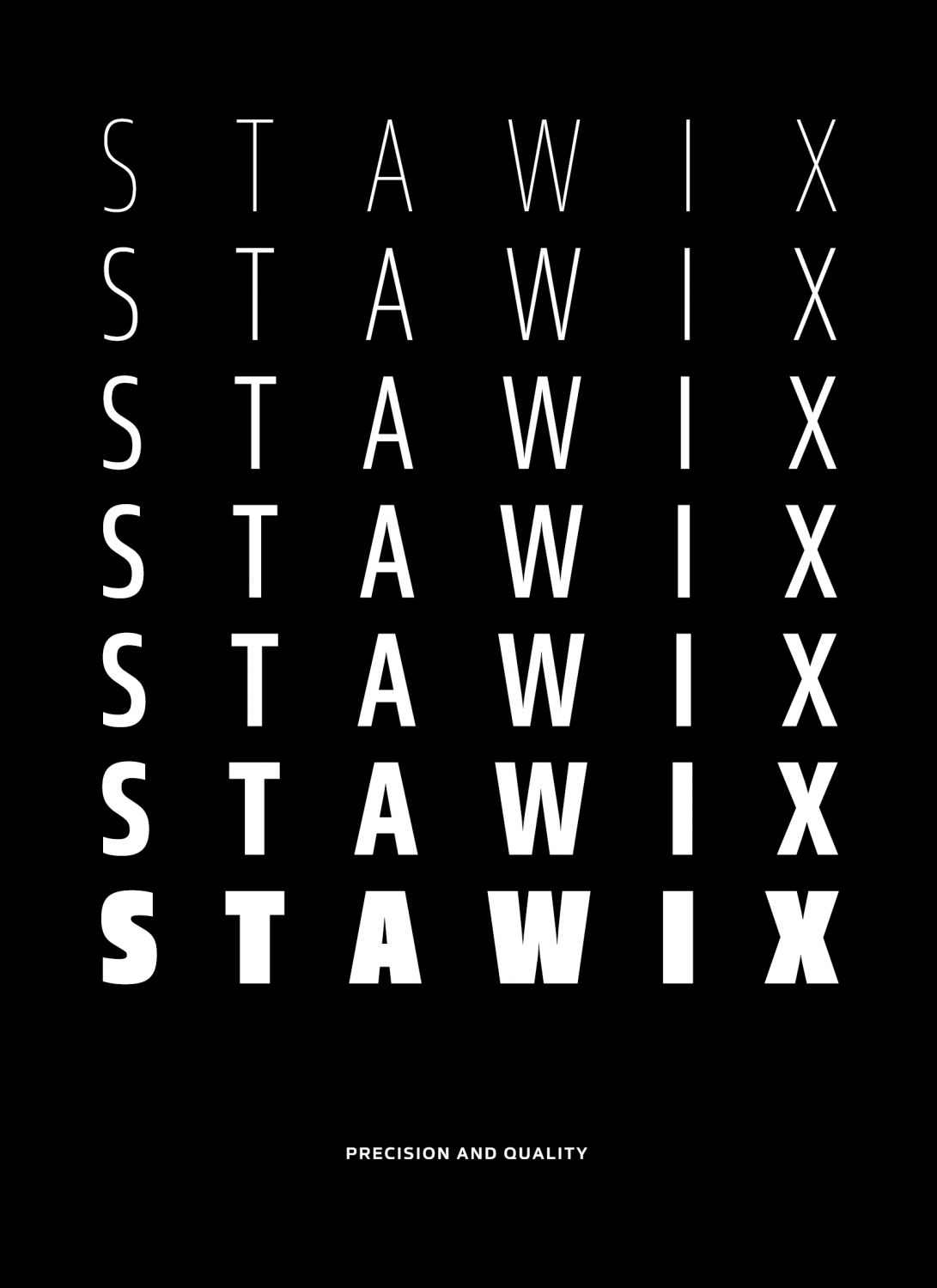Precision and Quality: The Value and Versatility of Stawix Fonts