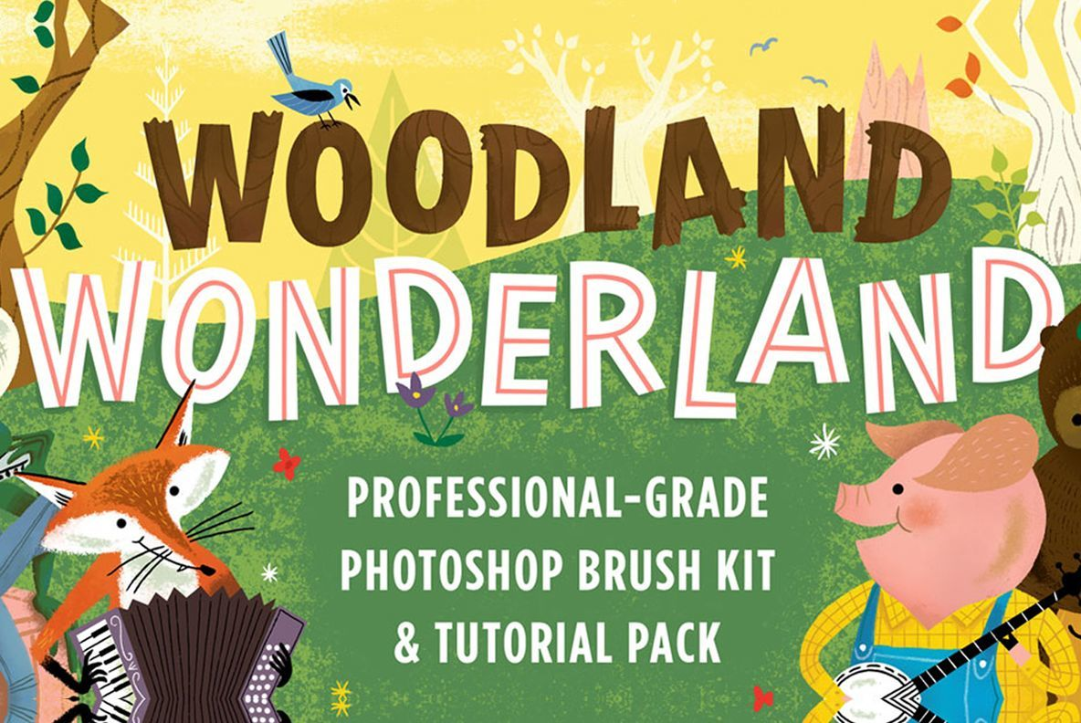 Photoshop Brushes Inspired by Little Golden Books