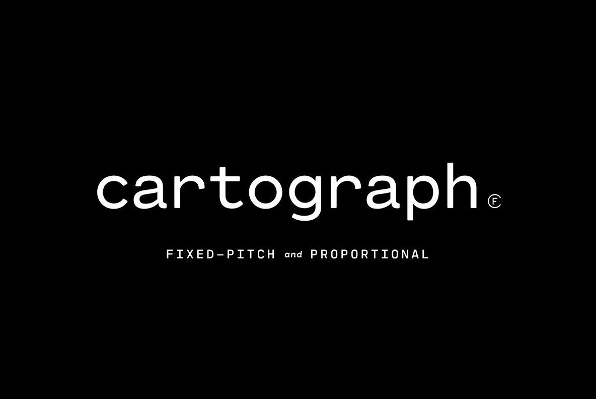 Cartograph - A Modern Monospace Type Design