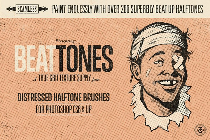 Beat Tones Photoshop Brush Tutorial