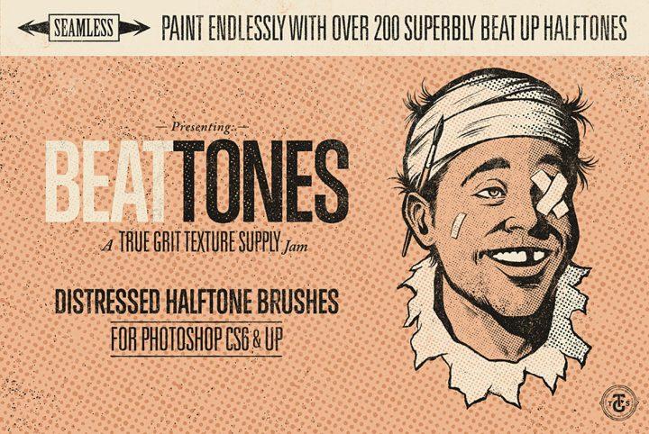 Beat Tones Photoshop Brush Tutorial
