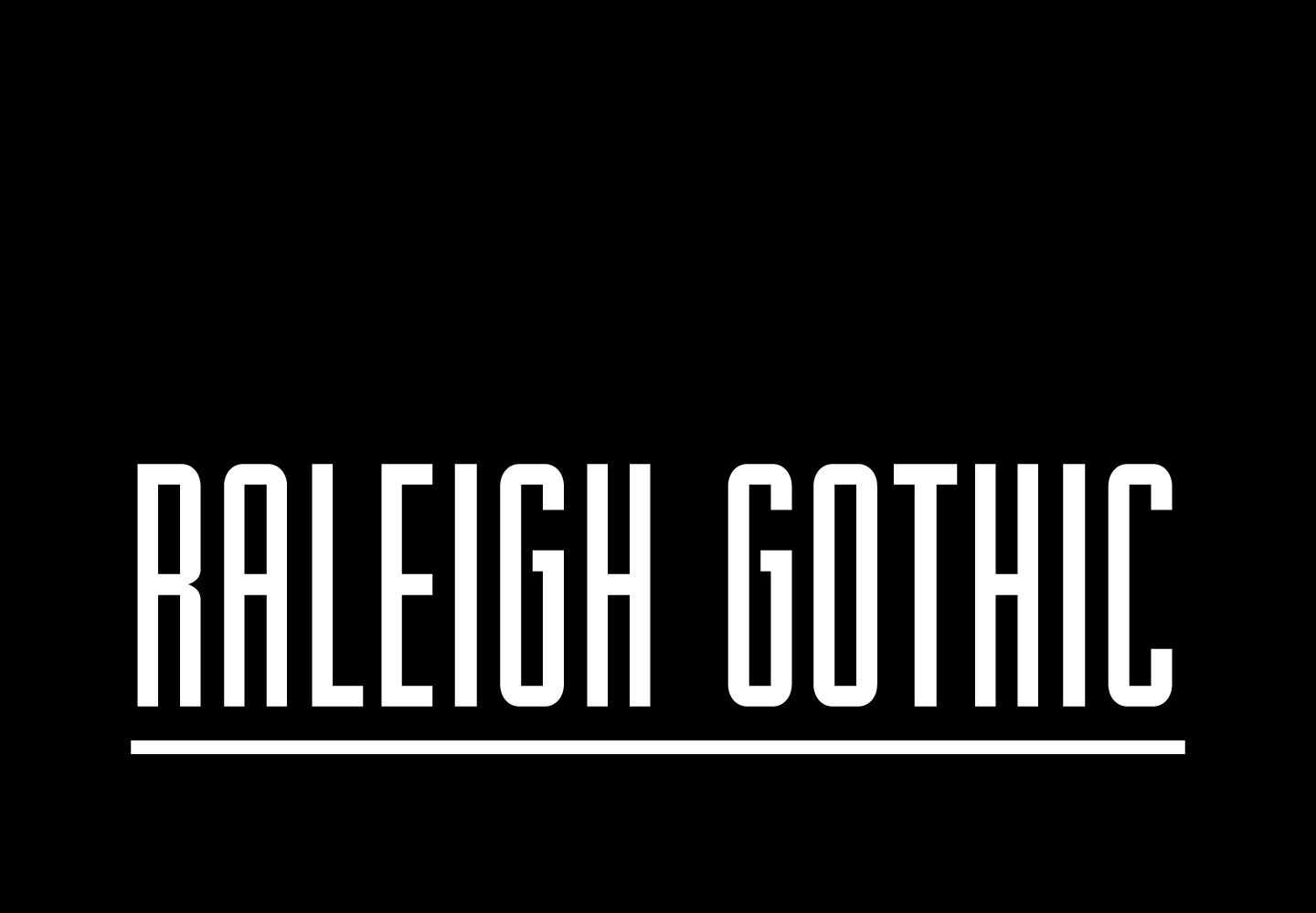 Raleigh Gothic Is Cool And Athletic With A Freshness Thats Perfectly At Home In Modern Sports Themed Designs This Font Great