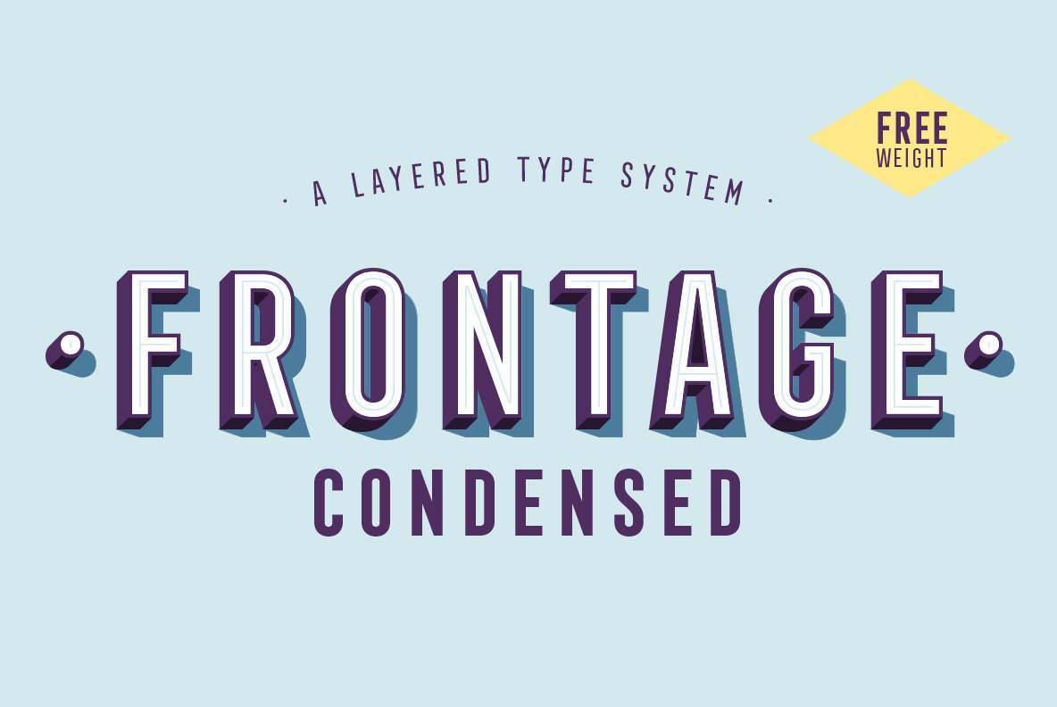 Download Frontage Condensed Font