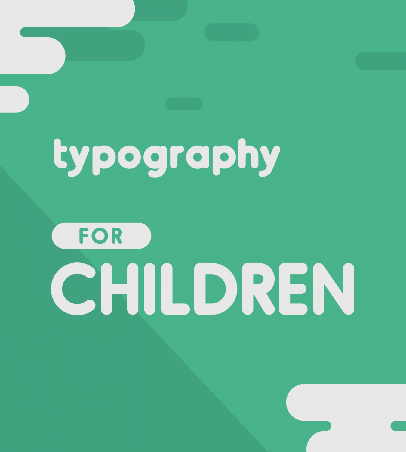 "Get In Touch With Your Inner-Child: Our ""Typography For Children"" Collection"