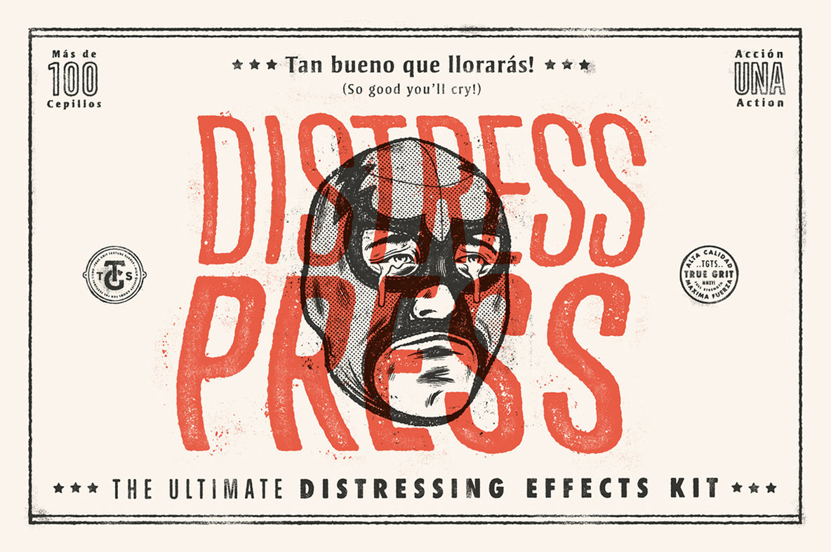 Distress Press Ultimate Distressing Effects Kit Will Make You Weep (¡LAGRIMAS DE ALEGRIA!)