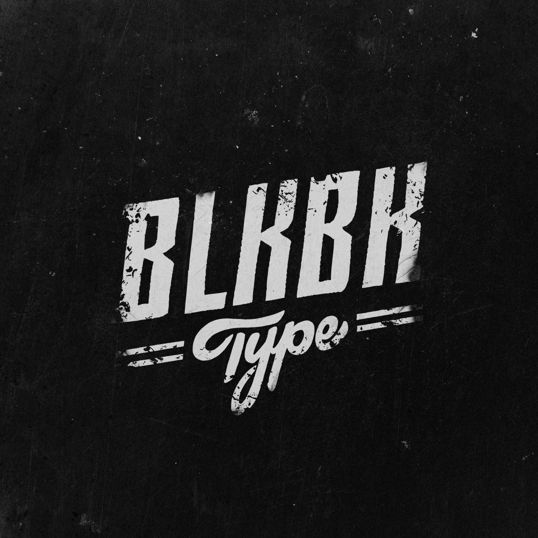 BLKBK Foundry's Soulful, Expressive Letter Sets