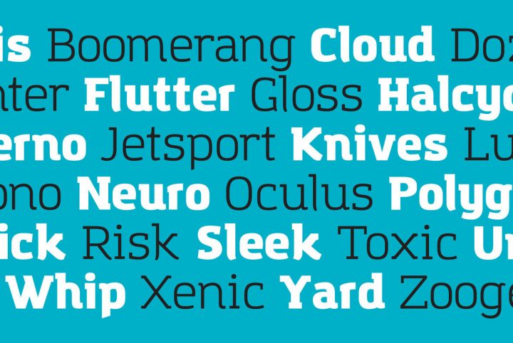 A New Slab Serif From A New YouWorkForThem Foundry: Amazing Grotesk