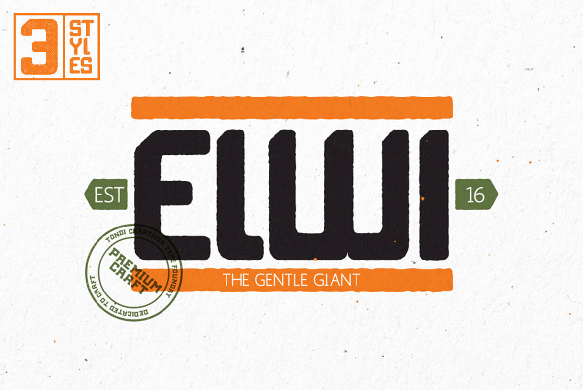 Robust Yet Approachable: Elwi the Gentle Giant