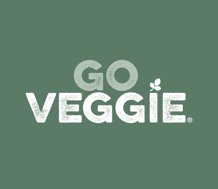 GO VEGGIE Rebrands With Distressed Fonts From Yellow Design Studio