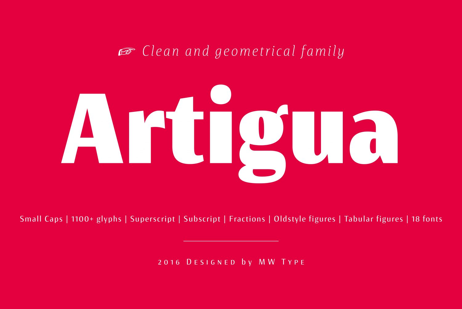 A Geometric Sans Steeped In Warsaw's Heritage: Artigua