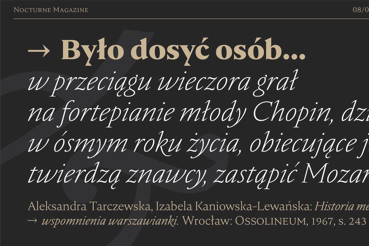 Download Nocturne Serif Font