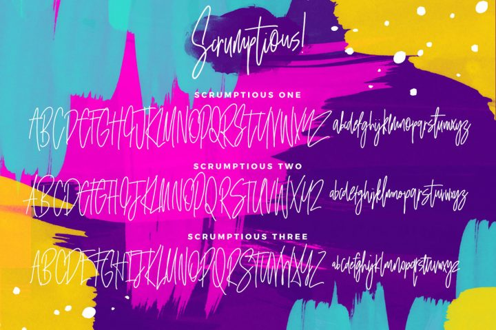 Download Scrumptious Font