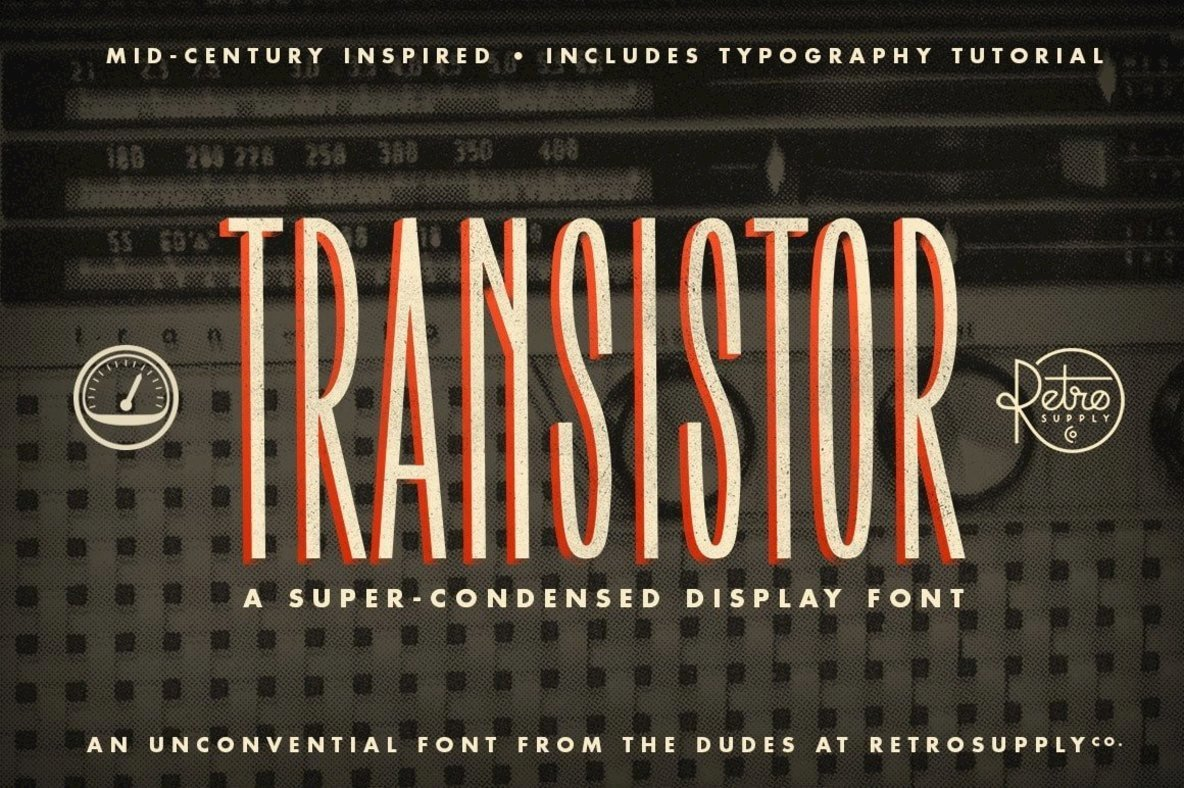 Midcentury Hardware Design At Your Fingertips: Transistor From RetroSupply Co.