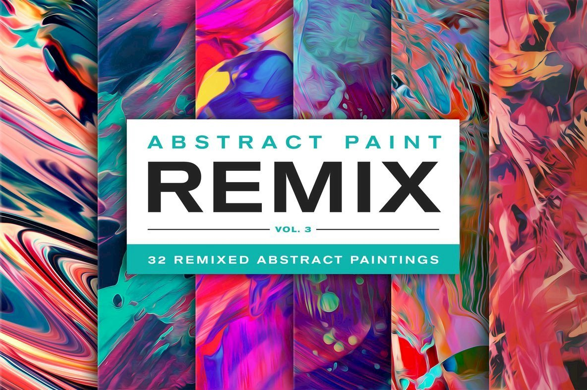 Electric New Artwork From Jim LePage: Abstract Paint Remix Vol. 3