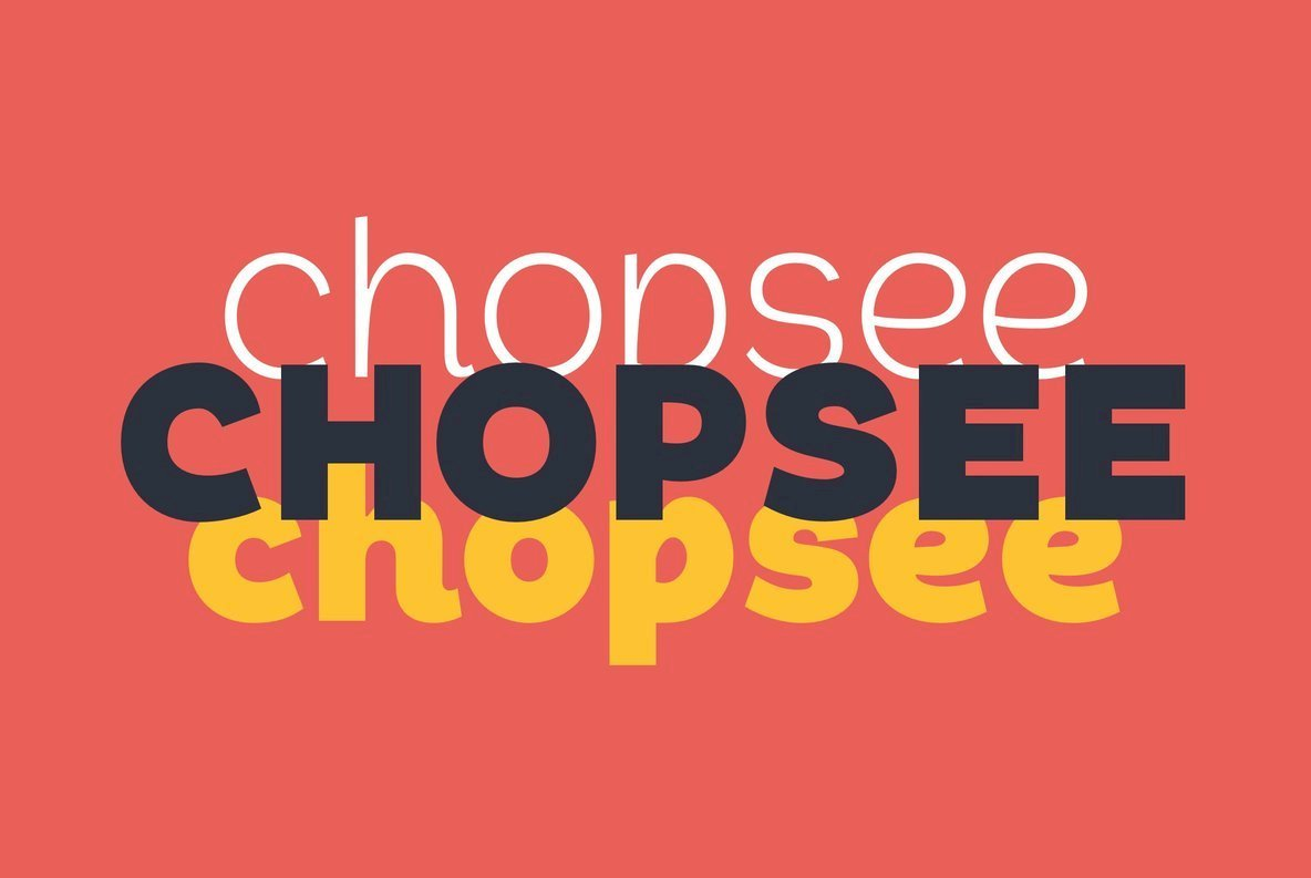 A Fresh And Contemporary Sans Serif From TypeUnion: Chopsee