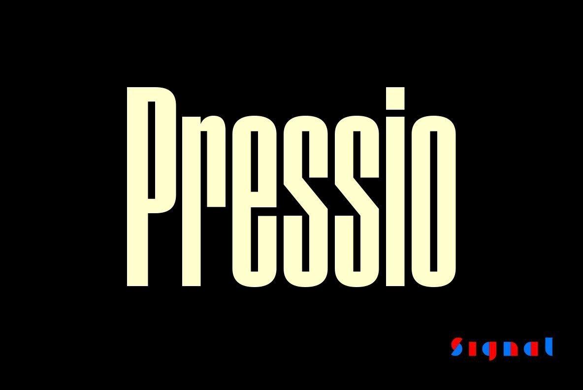 Download Pressio Font