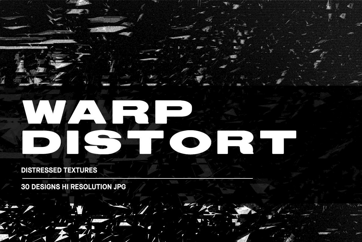 Warp Distort - Distressed Textures Adds Spectral Effects