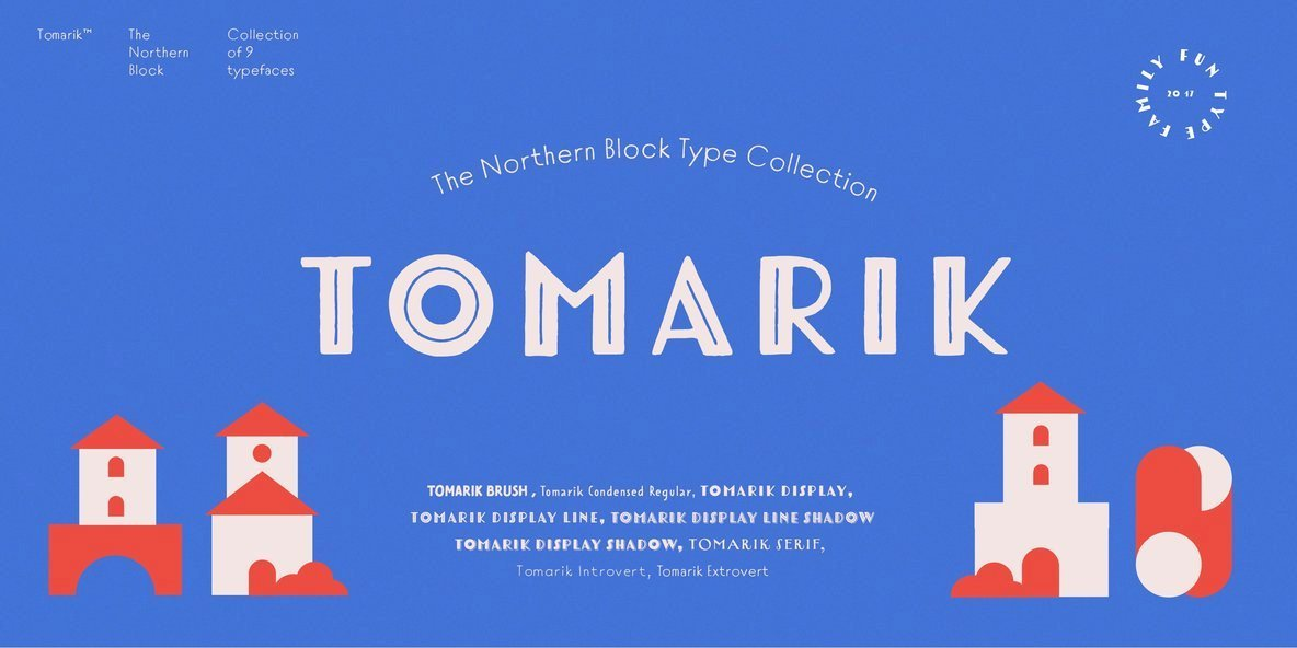 Tomarik: A Charming Handcrafted Type Design From The Northern Block