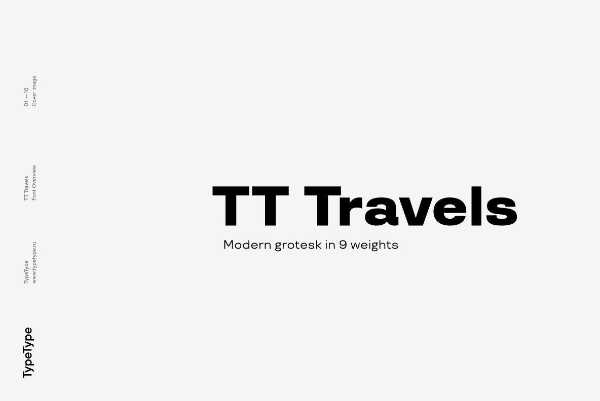 Download TT Travels Font