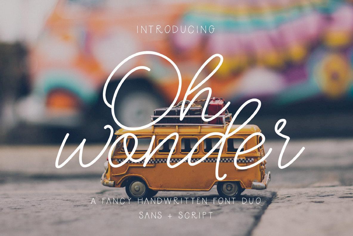 Download Oh Wonder Font